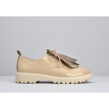 ARMISTICE ROCK DERBY W - PATENT - NUDE SOLE DOVE