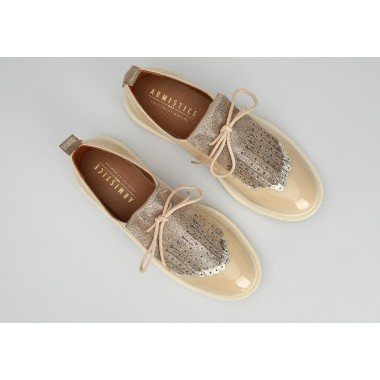 ROCK DERBY W - PATENT - NUDE SOLE DOVE