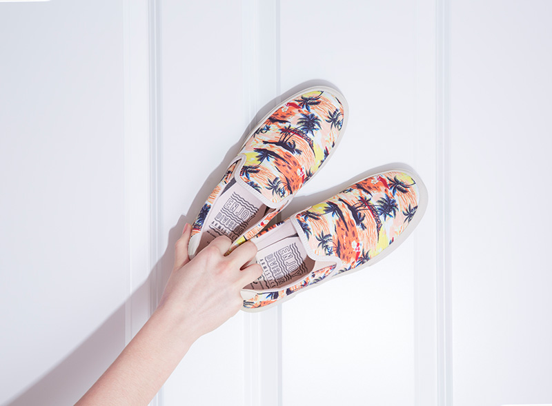 Chaussures armistice Slip on